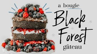 BLACK FOREST GÂTEAU ∙| baking with meghan |∙ BAKEMAS DAY 6 by Meghan Rienks
