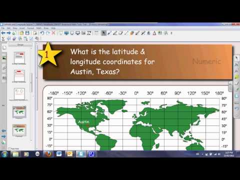 how to locate by longitude and latitude