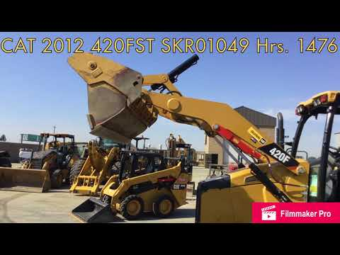 CATERPILLAR BACKHOE LOADERS 420FST equipment video dTqulUDrhUQ