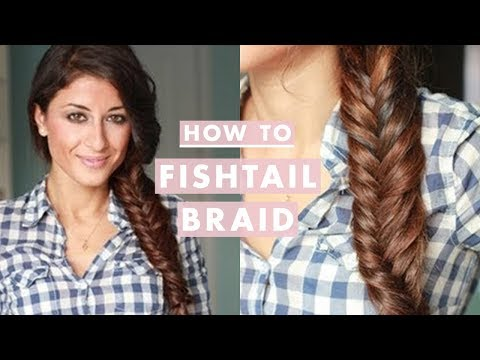 How to%3A Everyday Fishtail Braid 