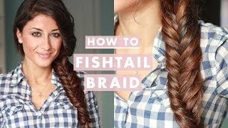 How to: Everyday Fishtail Braid - YouTube