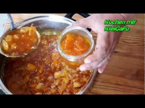 Kürbis – Pumpkin – Marmelade selber machen