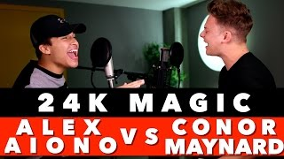 Video Bruno Mars - 24K Magic (SING OFF vs. Alex Aiono) MP3, 3GP, MP4, WEBM, AVI, FLV Maret 2017