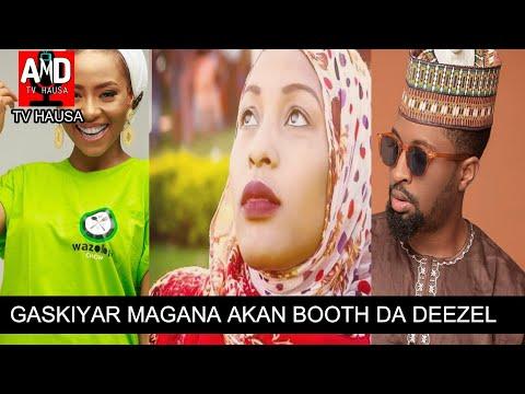 Gaskiyar Magana Akan Batun Maryam Booth Da Mawaki Deezel A Kan Abun Dake Faruwa