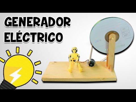 Generador el ctrico casero para ni os manualidades - Generador de electricidad ...