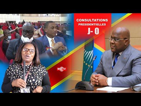 🔴EN DIRECT J-0 FATSHI CONSULTE HON NEMBALEMBA ,JC MVUEMBA,CONSTANT OMARI...