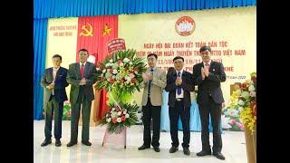 Chủ tịch MTTQ thành phố Đào Ngọc Sơn dự ngày hội đại đoàn kết toàn dân tộc tại khu Nam Trung, phường Nam Khê