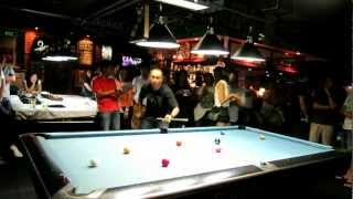 Thailand Snooker Legend Jame Wattana Vs Pool Legend Efren Reyes In Bangkok