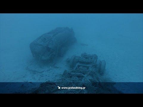 """Video - """"΄Επεφταν από τον ουρανό ρόδες αυτοκινήτων. Το πλοίο έγινε λαμπάδα και φώτιζε όλο τον Κάβο Ντόρο"""". Κατάδυση στο ναυάγιο του πλοίου """"Χρυσή Αυγή"""" που βυθίστηκε μετά από έκρηξη βυτιοφόρου και πνίγηκαν 28 άτομα. Εντοπίστηκε μετά από 33 χρόνια"""
