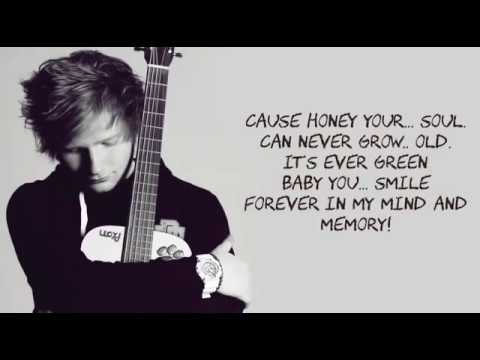 Video Ed Sheeran - Thinking Out Loud Lyrics With Music download in MP3, 3GP, MP4, WEBM, AVI, FLV January 2017