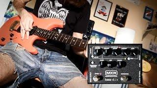 Выпуск №040 - MXR M80 Bass DI. Работаем звук на сцене.