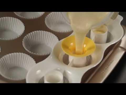 Видео Формочки для печенья из пластмассы Tescoma Формочка для двуцветных маффинов DELICIA Tescoma  630089