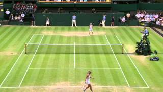 Tennis Highlights, Video - 2013 Day 10 Highlights: Sabine Lisicki v Agnieszka Radwanska