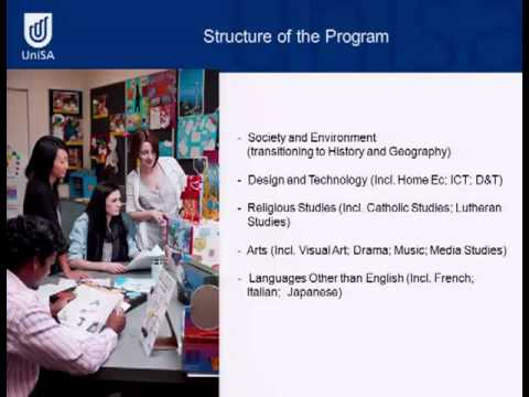 Grund- und Mittelschulunterricht - Tag der offenen Türen 2011 - University of South Australia