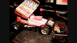 Slotstox warm-up, 1:32 model stockcar-F1