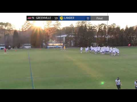 Lander Men's Lacrosse vs. North Greenville