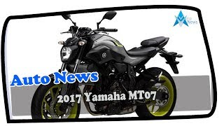 8. LOW PRICE !!! 2017 Yamaha MT07  Price & Spec