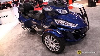 8. 2017 Can Am Spyder RT Limited - Walkaround - 2017 Toronto Motorcycle Show