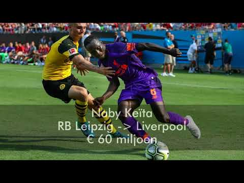 Top 10 most expensive summer transfers in the Premier League