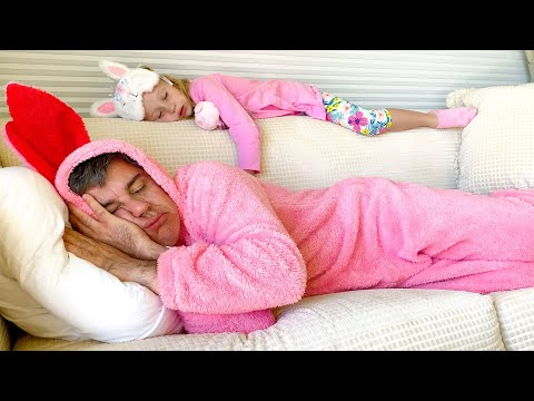 Nastya and dad - sleeping story