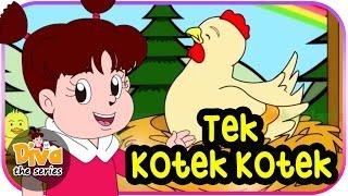 Video Tek Kotek Kotek (Anak Ayam) | Diva bernyanyi | dan cerita diva lainnya | Diva The Series Official MP3, 3GP, MP4, WEBM, AVI, FLV Januari 2019