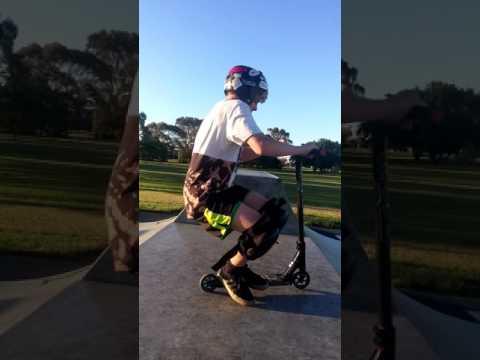 Georgetown skatepark chills