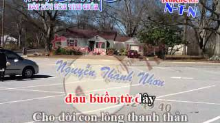 Karaoke THANH CA VC- DANG NGAI LOI NGUYEN CAU(DAY DAO)