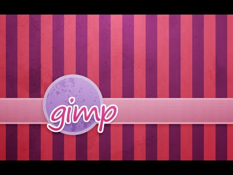 GIMP Tutorial: Striped Background Design