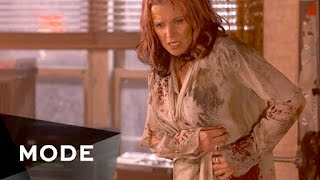 "SNAPCHAT: @ ModeStories - Lucy Lawless takes us on-set, as she films the campy gorefest ""Evil Dead"" with Bruce Campbell—and gives an inside look at what it's like to be a hands-on action star. http://mode.com/mode-videoFor more videos like this, visit us on MODE: http://www.mode.com/mode-video Follow us on Twitter: http://twitter.com/modestoriesFriend us on Facebook: https://www.facebook.com/modestoriesCheck us out on Instagram: http://instagram.com/modestoriesGet inspired on Pinterest: http://www.pinterest.com/modestoriesAdd us to your circle on Google+: http://bit.ly/glam-googleplus"