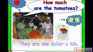 Vegetables, Carrots, Tomatoes, Potato, How much, Kids English Lessons