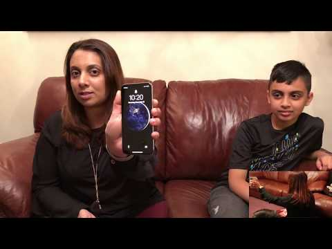 Ten-Year-Old's Face Unlocks Face ID on His Mom's iPhone X