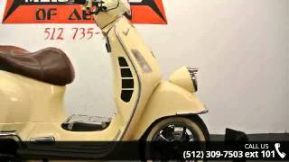 5. 2009 Vespa GTV 250  - Dream Machines Indian Motorcycle - ...