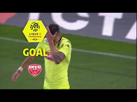 Goal Pierrick CAPELLE (22' csc) / Dijon FCO - Angers SCO (2-1) (DFCO-SCO) / 2017-18