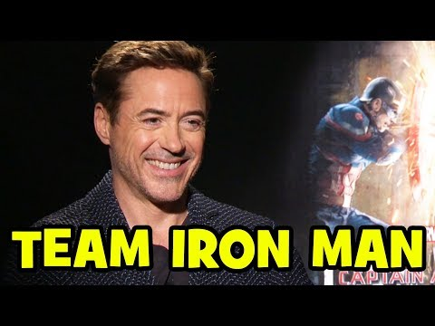 'Captain America: Civil War' Team Iron Man Interviews – Robert Downey Jr, Paul Bettany, Chadwick Boseman