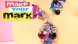 How to: Crystal Cluster Jewelry DIY - YouTube