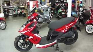 2. 2012 Kymco Super 8 150