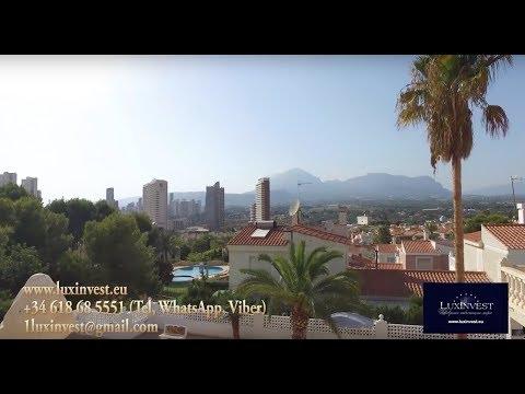 Элитная вилла в Бенидорме для изысканных владельцев в районе Rincon de Loix за 650.000€
