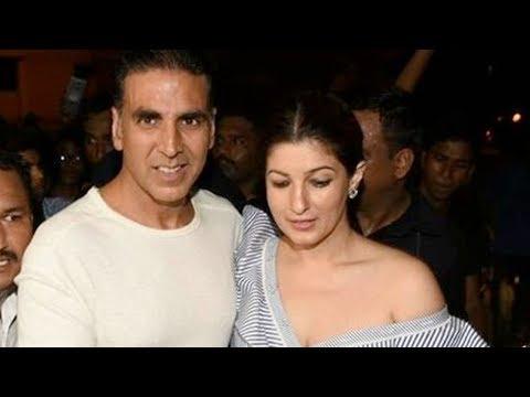 Akshay Kumar And Twinkle Khanna Arrive At Karan Jo