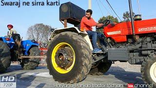 Swaraj 855 maan vs Sonalika 60 Rx tractor tochan in Haryana mustfabad