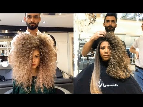 Beautiful Hairstyles Tutorial by Professional 2018   Amazing Hair Transformation (видео)