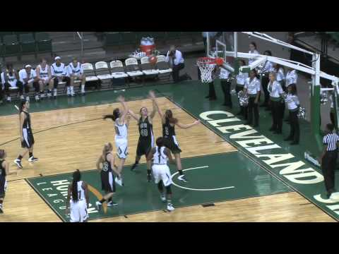 Cleveland State Women's Basketball Highlights vs. Lake Erie (Nov. 14, 2013)