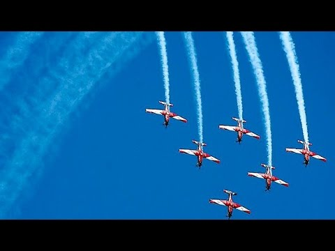 RAAF Roulettes at Avalon 2015