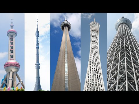 Incredible Architecture! The 5 Tallest Towers in the World