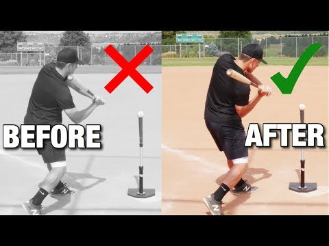 "How To Fix Having A ""Long Swing"" In Baseball"
