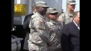 Hoffa Joins Veterans at Teamsters Job Training Program