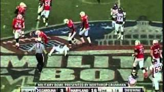 Dwayne Harris vs Maryland Military Bowl 2010 vs  (2010)
