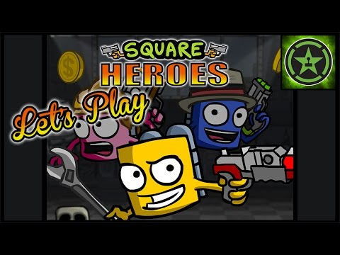 Let's - The AH gang try out the upcoming indie game Square Heroes and do a little shooting and bashing. Want this game available on Steam? Go rate it up here: http://bit.ly/1uMTQQ7 Learn more about...