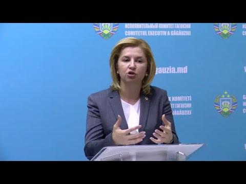 Președintele Republicii Moldova a avut o întrevedere cu conducerea Găgăuziei.