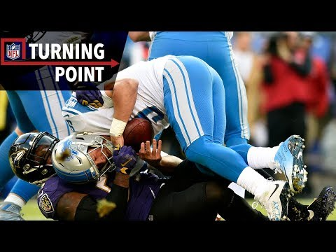 Video: Terrell Suggs & Ravens Pressure Gets to Matthew Stafford (Week 13) | NFL Turning Point