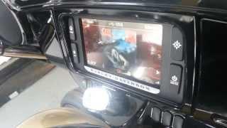 8. 2014 Harley Davidson Infotainment system.